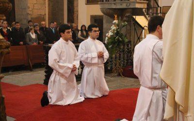 Diocese ordena dois novos diáconos na festa da Imaculada Conceição