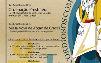 Diocese de Angra em festa para nova ordenação sacerdotal