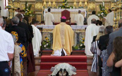 Diocese de Angra tem um novo sacerdote, o Pe Jacob Vasconcelos