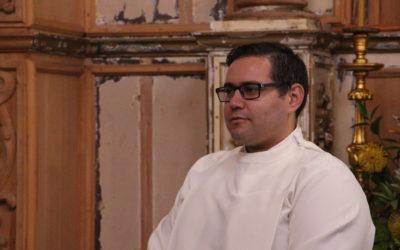 Diocese ordena mais um diácono com vista ao sacerdócio