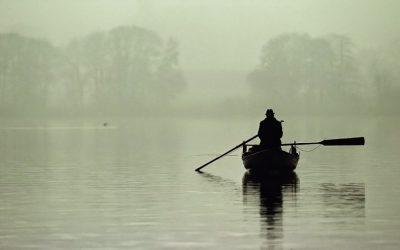 Um barco à deriva