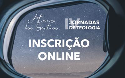 FORMULÁRIO ONLINE PARA INSCRIÇÃO – JORNADAS DE TEOLOGIA