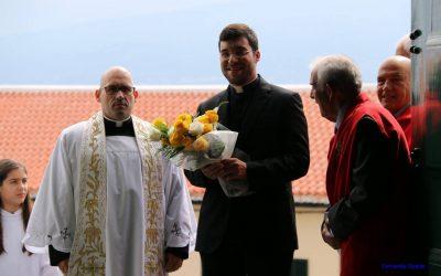 Diácono Nelson Pereira inicia funções no Faial