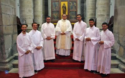 Bispo de Angra ordenou quinto diácono com vista ao sacerdócio desde que é responsável pela diocese insular
